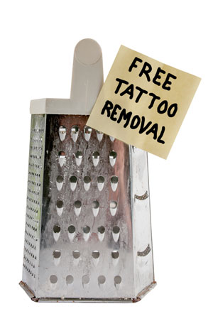 Top myths for DIY tattoo removal