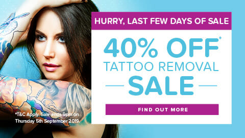 40% off Picoway Laser Tattoo Removal Sydney Laser Clinic - Liverpool, Hurstville & Sans Souci