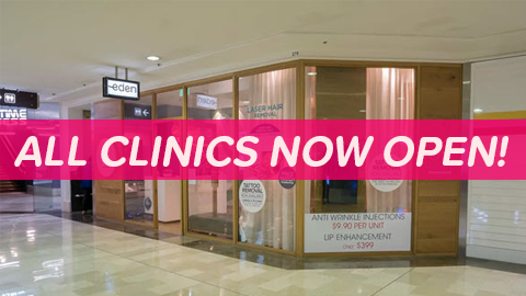 Eden Tattoo Removal Specialist - All clinics now open - Liverpool, Hurstville & Sans Souci